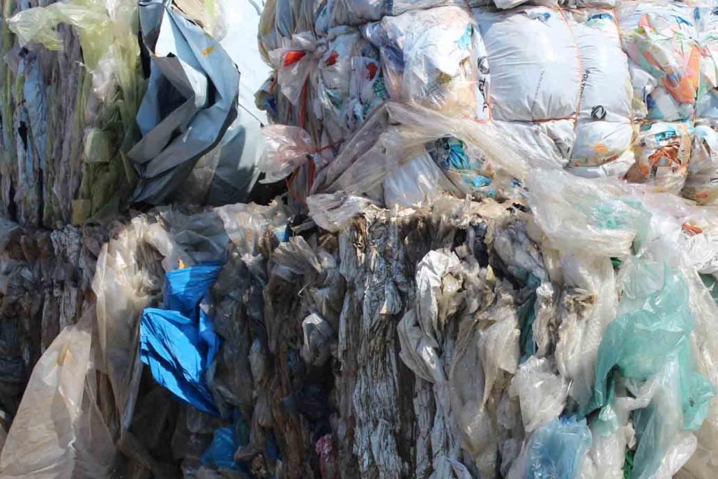plastica riciclata